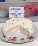 Ekologiczny ser podpuszczkowy z kozieradką
