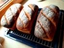 Chleby pszenno-żytnie na zakwasie