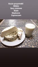Kozie przysmaki : mleko, sery