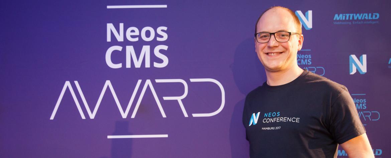 Neos Conference 2017: Passcreator mit Neos CMS Award in Silber ausgezeichnet