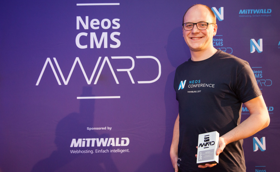 Neos Conference 2017: Passcreator wins Neos CMS Award Silver