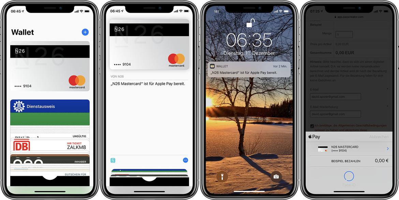 Apple Pay offiziell in Deutschland gestartet