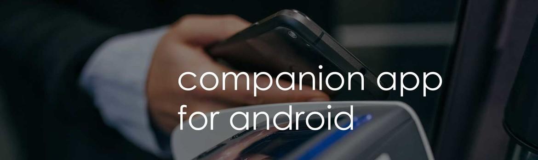 Unsere Companion App für Android