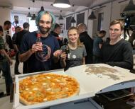 Pizza as always to start the event