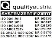 qualityaustria Systemzertifiziert
