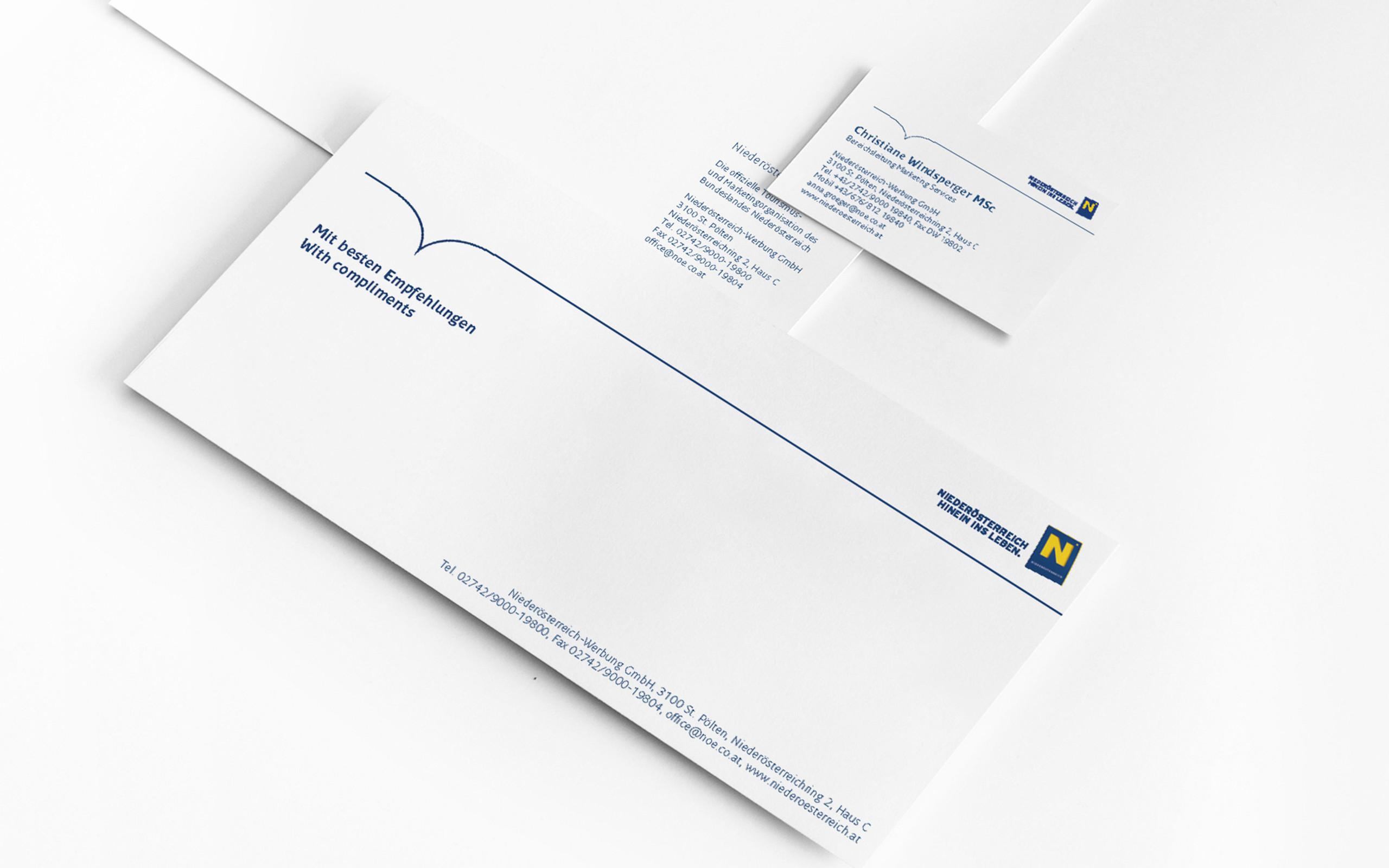 Niederösterreich Corporate Design