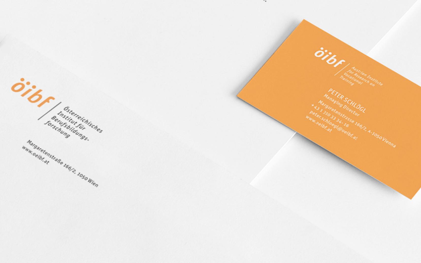ÖIBF Corporate Design