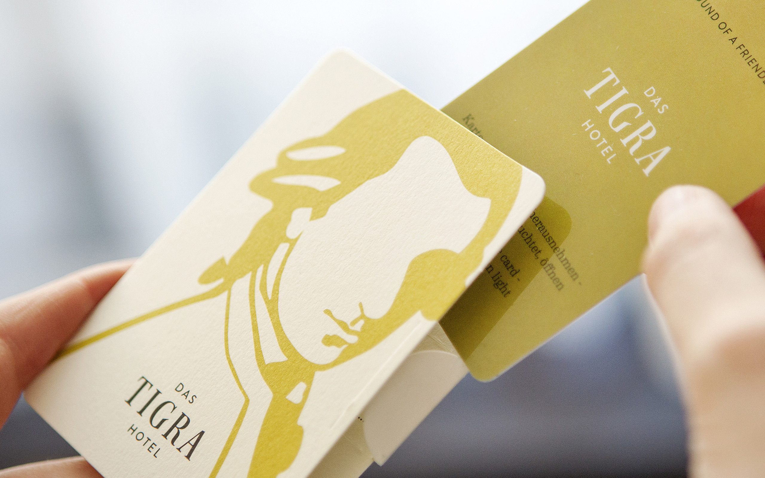 Hotel Das Tigra Branding