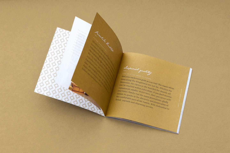 Hotel Kaiserhof Brochure Design