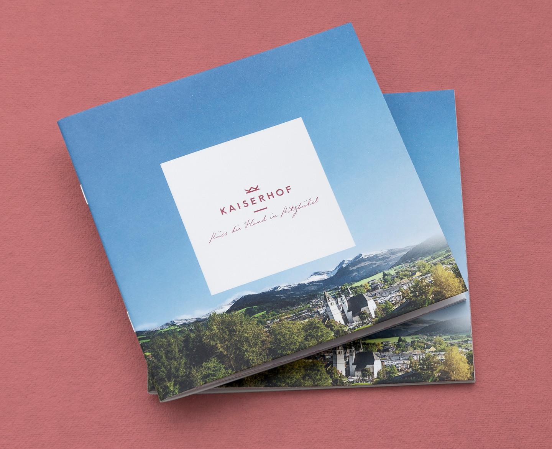 Hotel Kaiserhof Brochure Cover