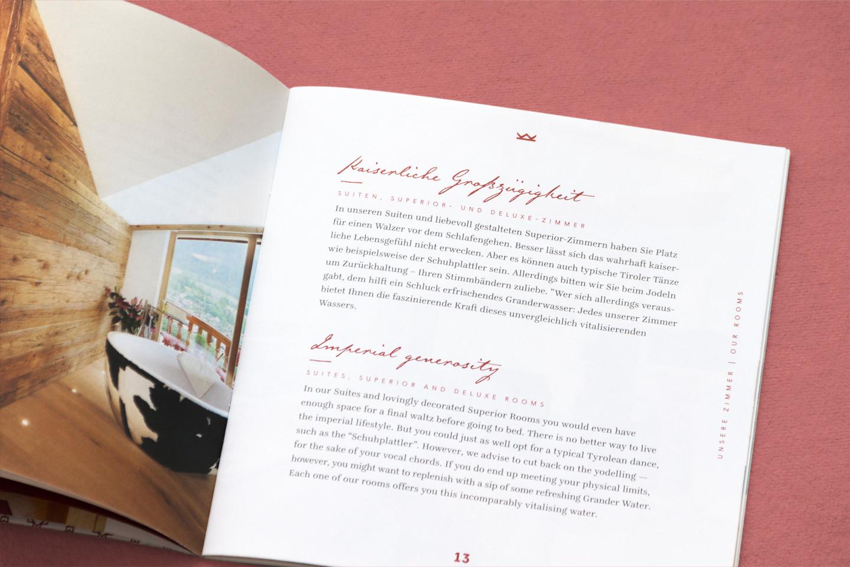 Hotel Kaiserhof Broschüre