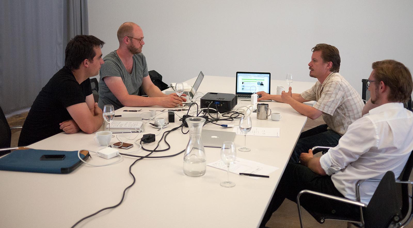 At iA offices in Zürich, Switzerland