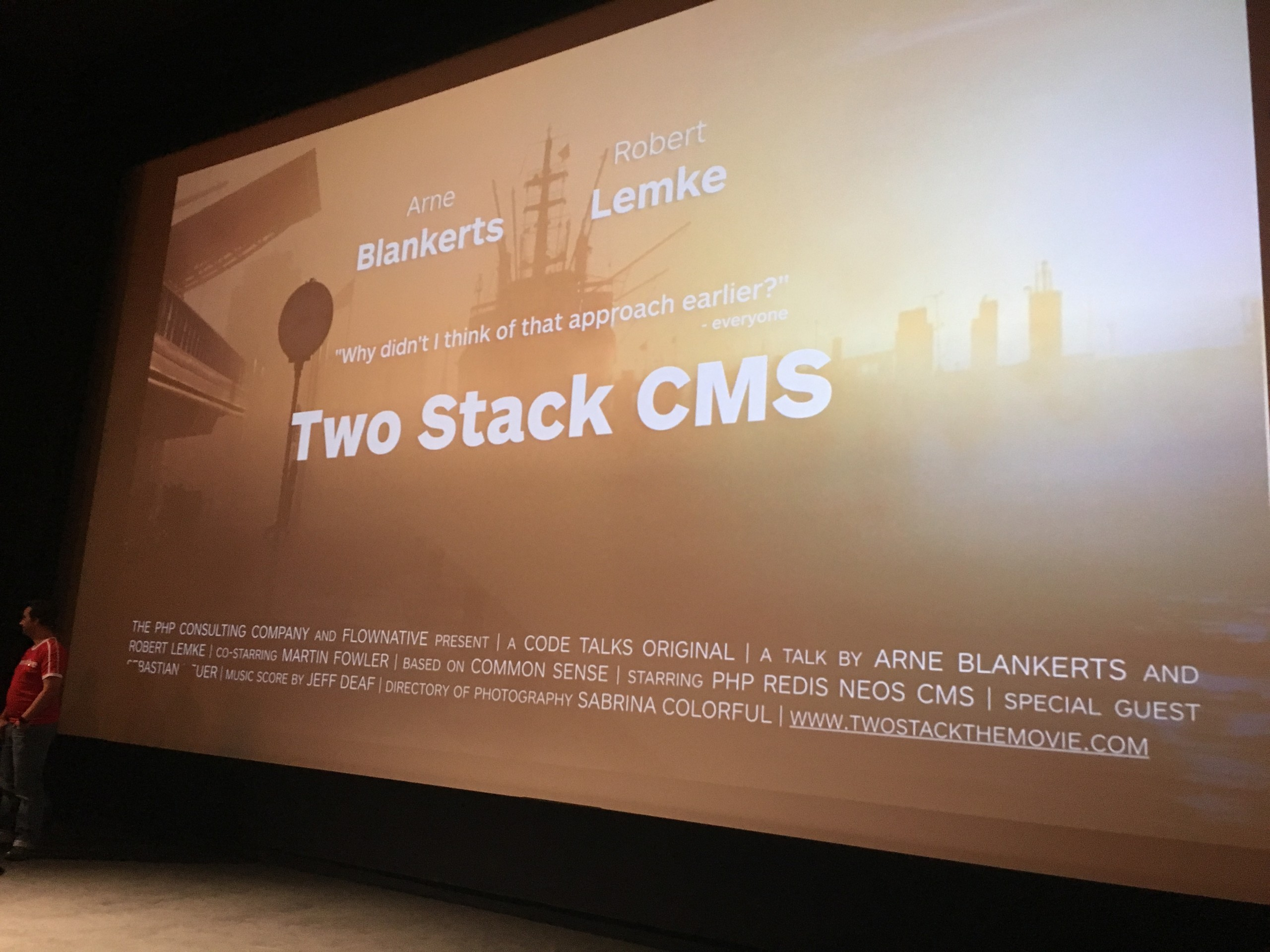 Two Stack CMS code.talks Hamburg