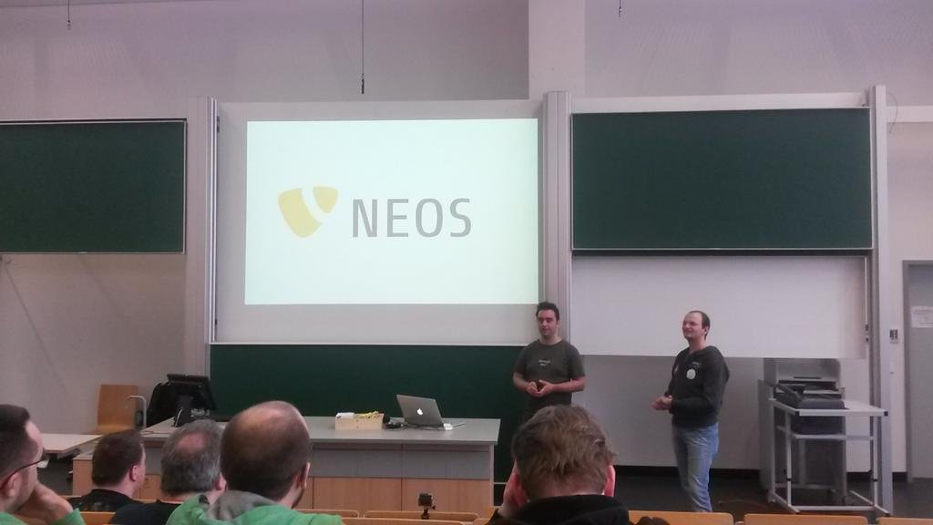 Neos and SPHERE.IO presentation