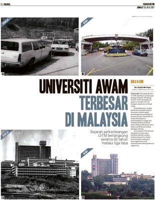 Universiti Awam Terbesar Di Malaysia Klik
