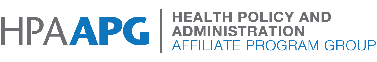 Health Policy and Administration (HPA) APG