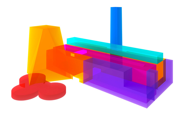 Visual of New Tate Modern by Peter Saville with Paul Hetherington and Morph