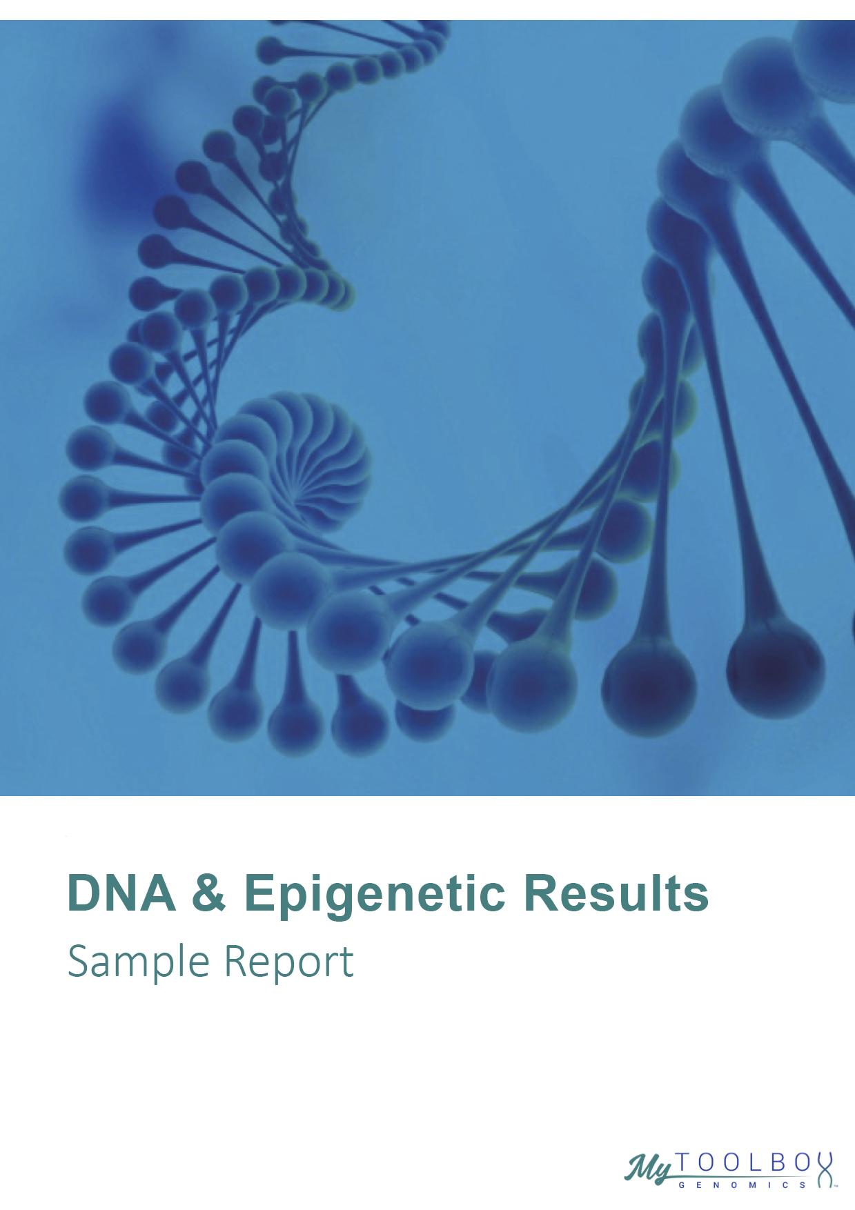 DNA Epigenetics Result