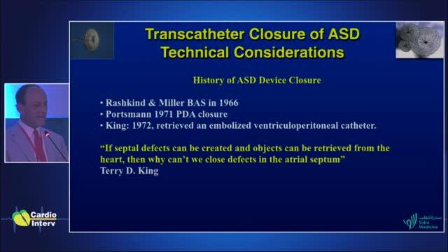 25 - Palestra 8: Fechamento dos defeitos de septo cardíaco: considerações técnicas.