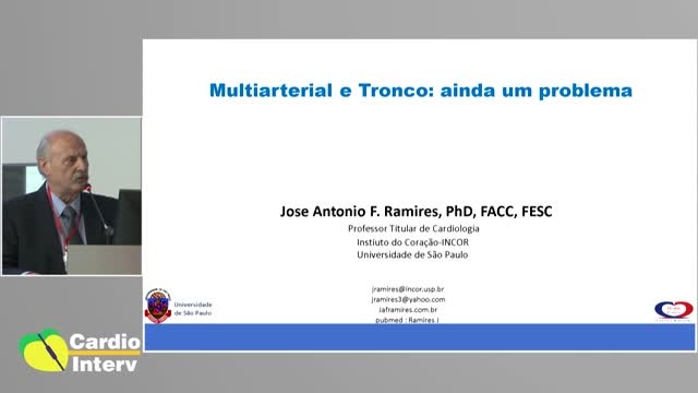 36 - Multiarterial e Tronco: Mensagem Final