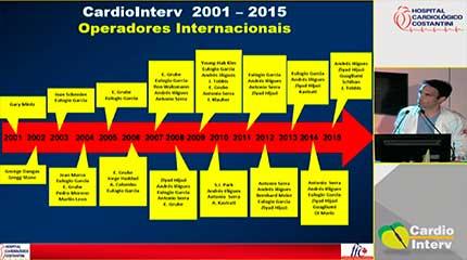 Palestra 02 - Reestudos CardioInterv 2015 e nos últimos 15 anos