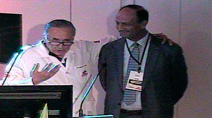 Homenagens Dr Pierre Labrunie e Dr Ziyad Hijazi