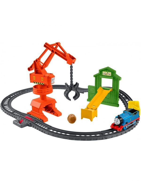 Thomas And Friends Crane And Cargo Μεταφορές Με Την Cassia Το Γερανό Με Τον Τόμας GHK83 Thomas The Train Αγόρι 3-4 ετών, 4-5 ετών, 5-7 ετών Thomas the train