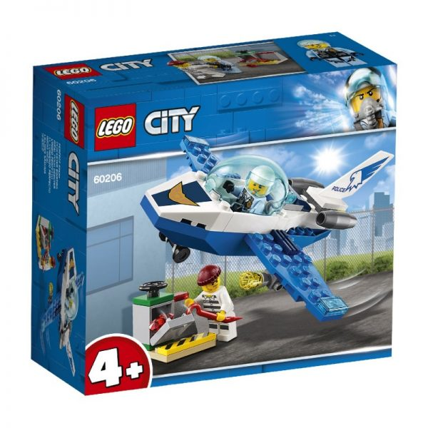 LEGO City Περιπολία Με Τζετ Της Εναέριας Αστυνομίας 60206 LEGO, Lego City, Lego City Police Αγόρι, Κορίτσι 4-5 ετών, 5-7 ετών