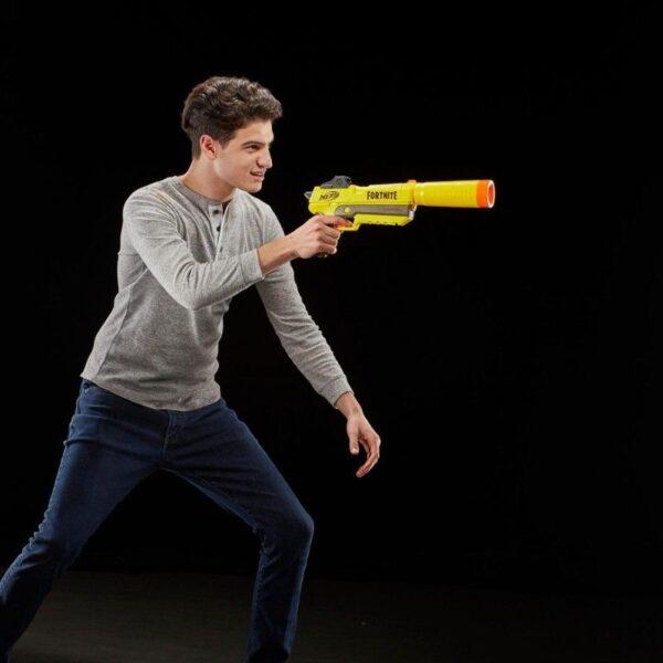 Fortnite NERF Αγόρι 12 ετών +, 7-12 ετών Nerf Fortnite SP-L Elite Dart Supp Pistol E6717