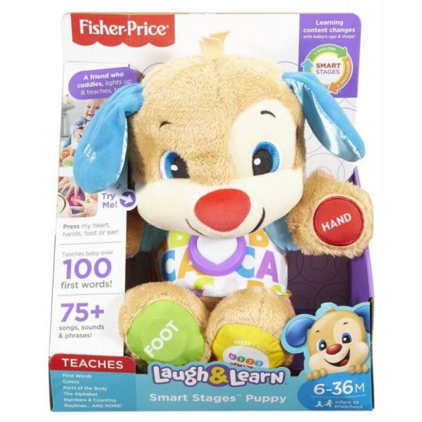 Fisher-Price Smart Stages Puppy - Σκυλάκι FPN78  Αγόρι, Κορίτσι 12-24 μηνών, 6-12 μηνών Fisher-Price