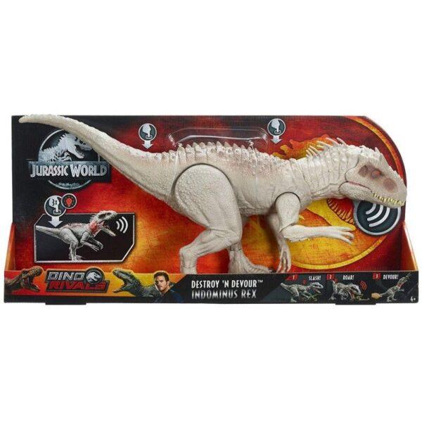 Jurassic World Indominus Rex Δεινόσαυρος Με Ήχους Και Κίνηση GCT95 Jurassic World Αγόρι 4-5 ετών, 5-7 ετών Jurassic World