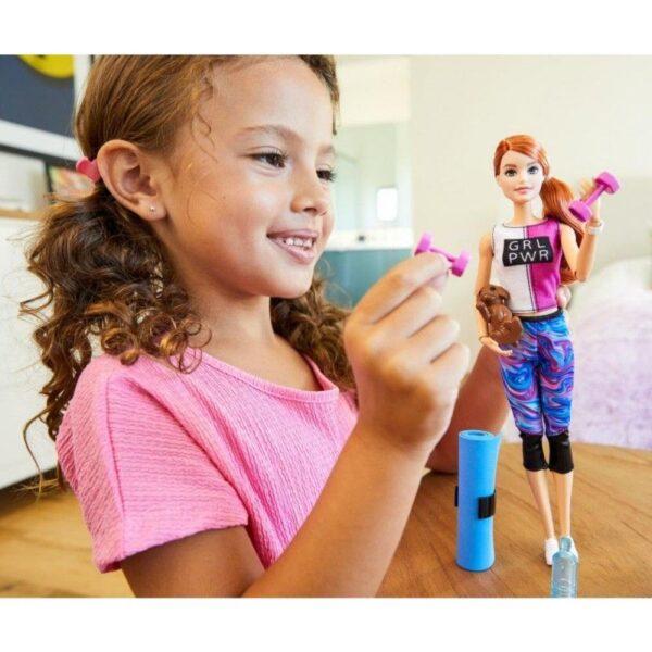 Barbie BARBIE Barbie Wellness Ημέρα Ομορφιάς  GKH73 3 Σχέδια 3-4 ετών, 4-5 ετών, 5-7 ετών Κορίτσι