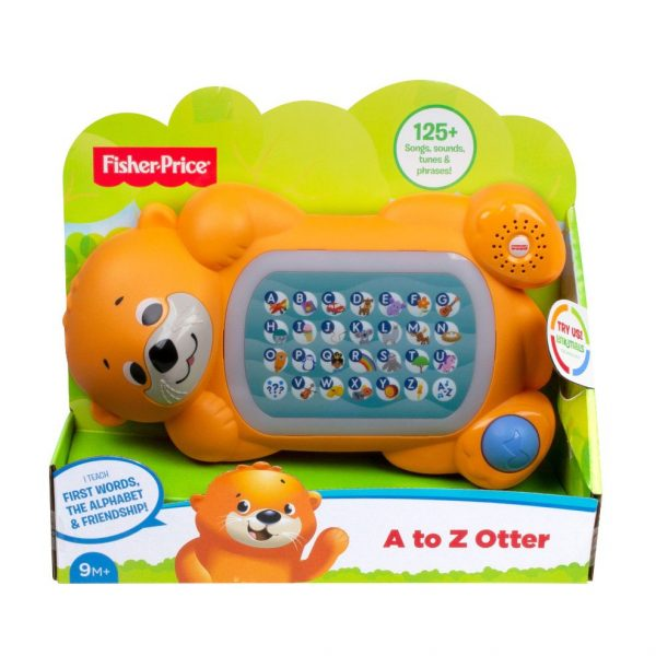 Fisher Price Linkimals Βίδρα Η Αλφαβητούλα GNY73 Fisher-Price Αγόρι, Κορίτσι 12-24 μηνών, 6-12 μηνών