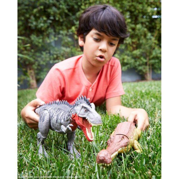 Jurassic World Δεινόσαυροι με Κινούμενα Μέλη & Λειτουργία Επίθεσης GJP32 Jurassic World 4-5 ετών, 5-7 ετών Αγόρι