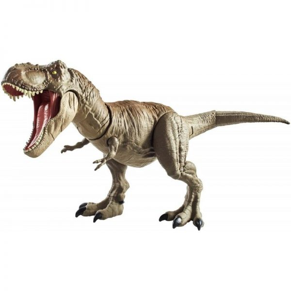 Jurassic World T-Rex Δεινόσαυρος Με Κινούμενη Ουρά Και Κεφάλι GCT91 Jurassic World Αγόρι 4-5 ετών, 5-7 ετών Jurassic World