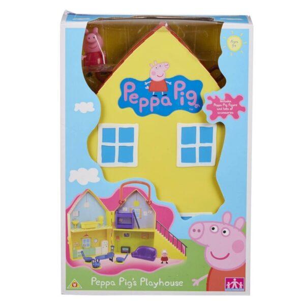 Peppa Pig  Peppa Pig Σπίτι με 1 φιγούρα GPH01469 Αγόρι, Κορίτσι 3-4 ετών, 4-5 ετών