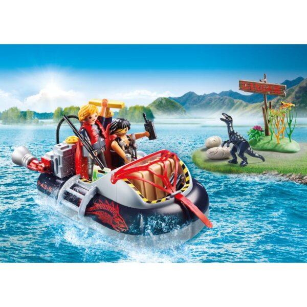 Playmobil City Action Χόβερκραφτ με εξερευνητές δεινοσαύρων 9435 4-5 ετών, 5-7 ετών Αγόρι Playmobil, Playmobil City Action