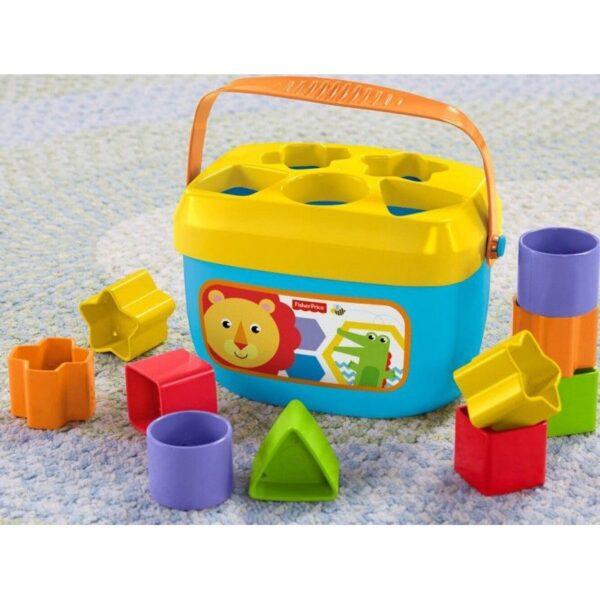 Fisher-Price Νέος Κύβος Με Σχήματα FFC84  Αγόρι, Κορίτσι 12-24 μηνών, 6-12 μηνών Fisher-Price