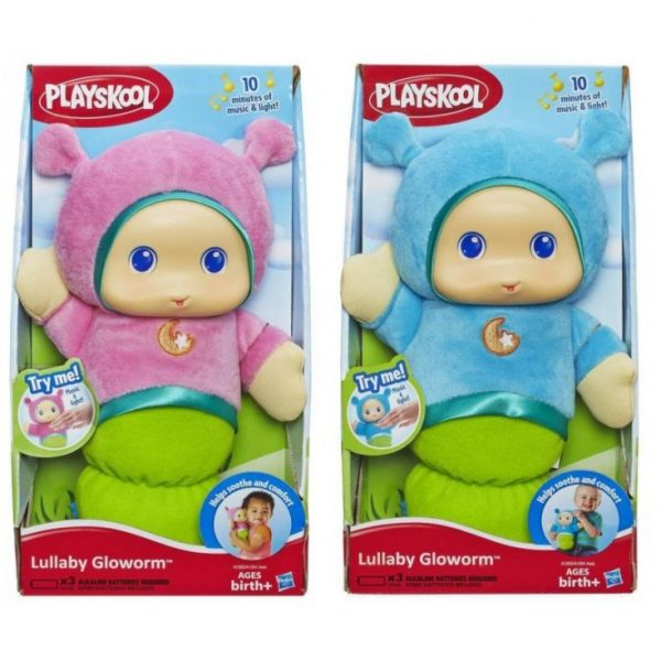 Φωτεινός Αγκαλίτσας Llullaby Gloworm A1204 Playskool Αγόρι, Κορίτσι 0-6 μηνών, 6-12 μηνών