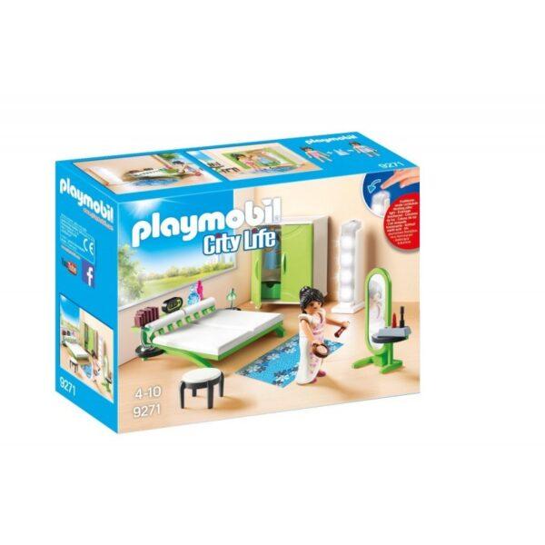 Playmobil City Life Μοντέρνο υπνοδωμάτιο 9271 Playmobil, Playmobil City Life Κορίτσι 4-5 ετών, 5-7 ετών