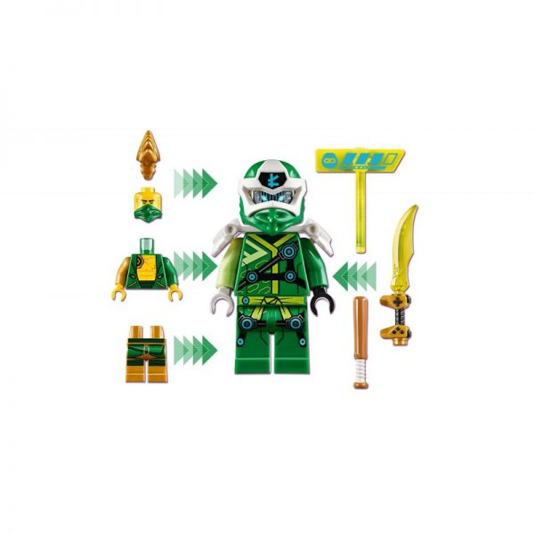 LEGO, Lego Ninjago  LEGO Ninjago Άβαταρ Λόιντ - Παιχνιδομηχανή Arcade 71716 Αγόρι, Κορίτσι 7-12 ετών