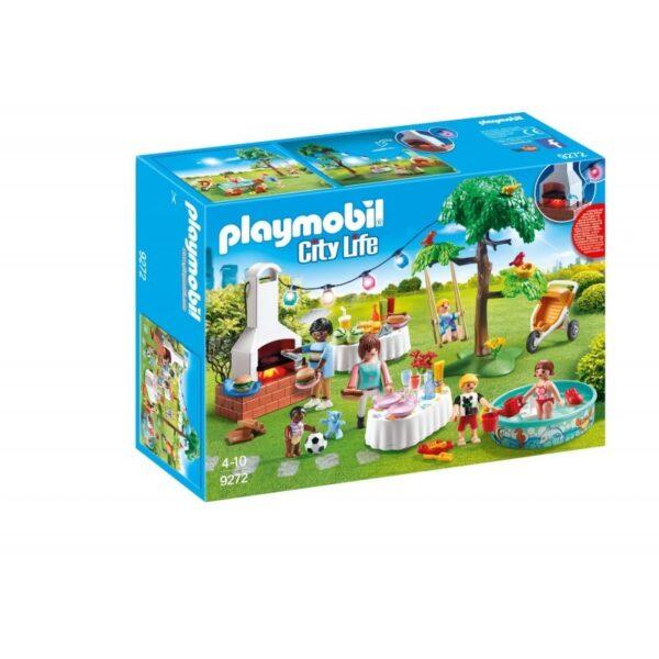 Playmobil City Life Πάρτυ στον κήπο με barbecue 9272 Playmobil, Playmobil City Life Κορίτσι 4-5 ετών, 5-7 ετών