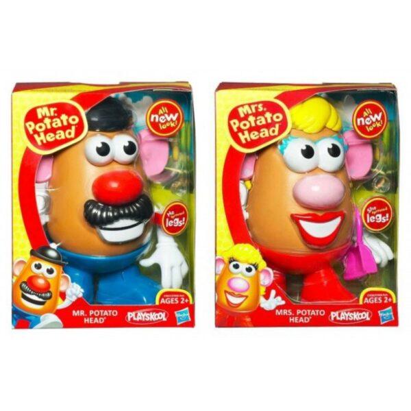 Playskool Mr And Mrs Potato Head 27656 2 Σχέδια Potato Head Αγόρι, Κορίτσι 2-3 ετών