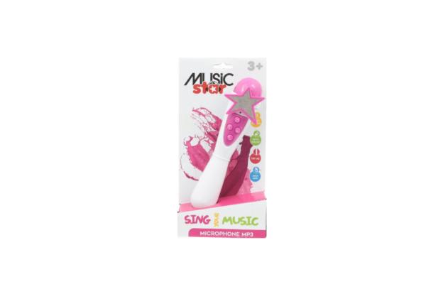 Music Star - Μικρόφωνο για Καραόκε MUSIC STAR Αγόρι, Κορίτσι