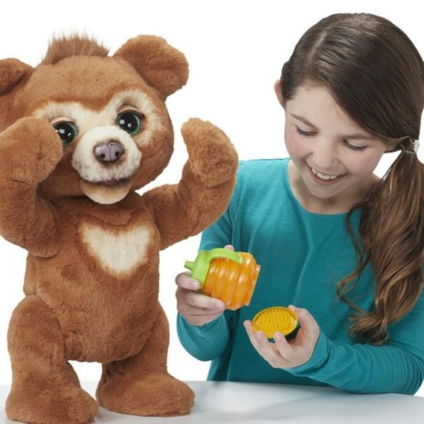 Fur Real  Furreal Cubby The Curious Bear Αρκουδάκι Φιλαράκι E4591 Κορίτσι 4-5 ετών, 5-7 ετών