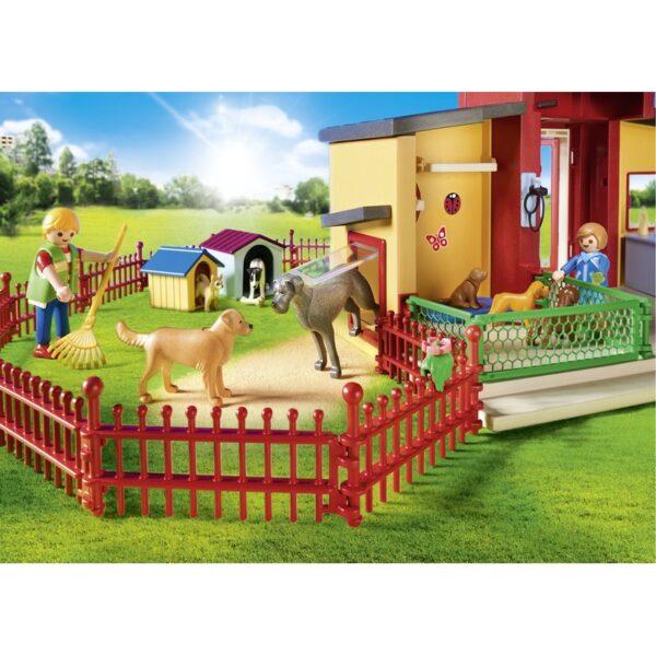 Playmobil, Playmobil City Life  Playmobil City Life Ξενώνας μικρών ζώων 9275 Αγόρι, Κορίτσι 4-5 ετών, 5-7 ετών