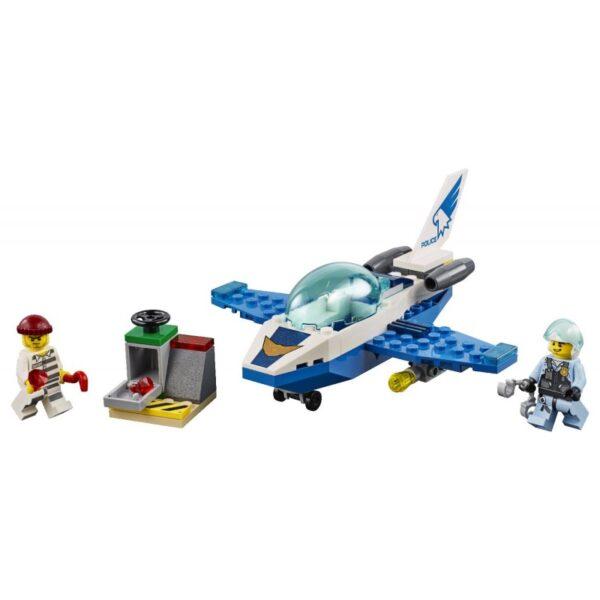 LEGO City Περιπολία Με Τζετ Της Εναέριας Αστυνομίας 60206  Αγόρι, Κορίτσι 4-5 ετών, 5-7 ετών LEGO, Lego City, Lego City Police