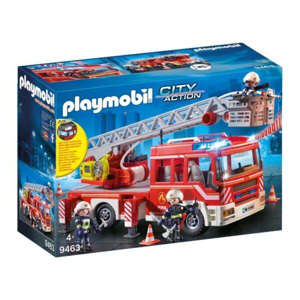 Playmobil City Action Όχημα Πυροσβεστικής με σκάλα και καλάθι διάσωσης 9463 Playmobil, Playmobil City Action Αγόρι 4-5 ετών, 5-7 ετών