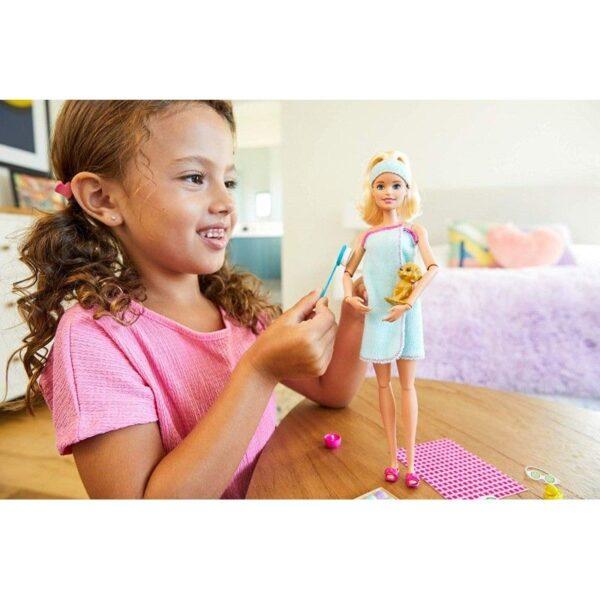 Barbie Wellness Ημέρα Ομορφιάς  GKH73 3 Σχέδια Κορίτσι 3-4 ετών, 4-5 ετών, 5-7 ετών Barbie BARBIE