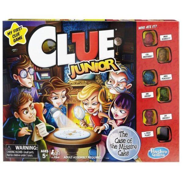 Επιτραπέζιο Cluedo Junior C1293 Hasbro Gaming Αγόρι, Κορίτσι 3-4 ετών, 4-5 ετών